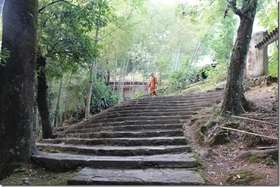 монастырь Тянь Синь в Уишани